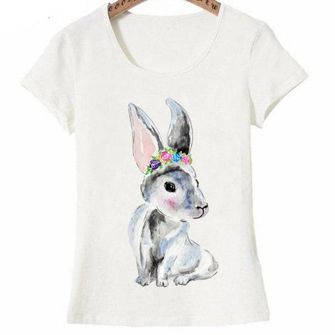 Cute little creature, bunny design fashion T-Shirt for Women by SHOPBUNNIES©
