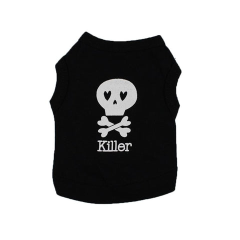 """KILLER"" Print pet T-Shirt for Rabbits!"