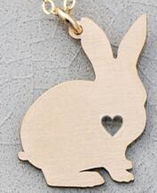 Load image into Gallery viewer, Customized Bunny Necklace