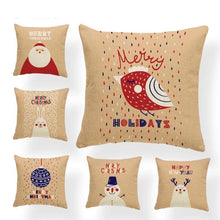 Load image into Gallery viewer, Christmas Rabbit Cushion/Pillowcase Cover
