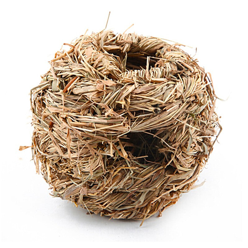 Hand-weaved Grass Ball For Rabbits