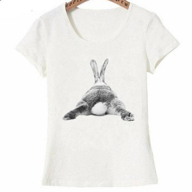 Bunny butt design fashion T-Shirt for Women by SHOPBUNNIES©