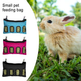 Rabbit Hay Bag Hanging Feeder Pouch