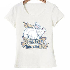 "Funny ""Killer Rabbit"" Printed T-Shirt by SHOPBUNNIES©"