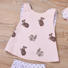 Load image into Gallery viewer, Cute Rabbit Printed Baby/Toddler Set