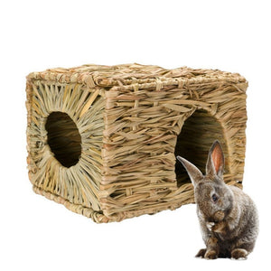 Rabbit Straw Box Nest