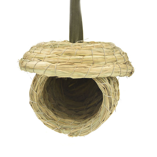 Hanging Straw Veggie Storage Feeder
