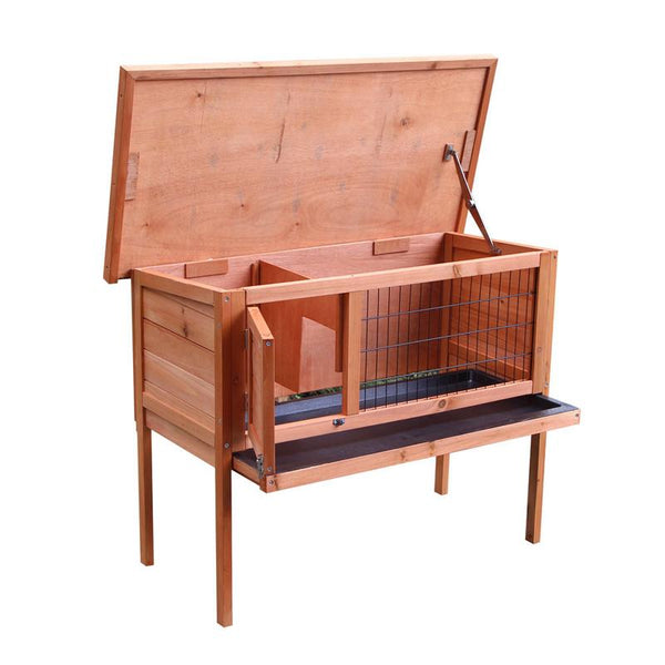 Waterproof Wooden Rabbit Hutch 36""