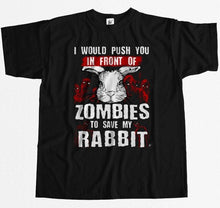 Load image into Gallery viewer, Funny Zombies Rabbit T-Shirt
