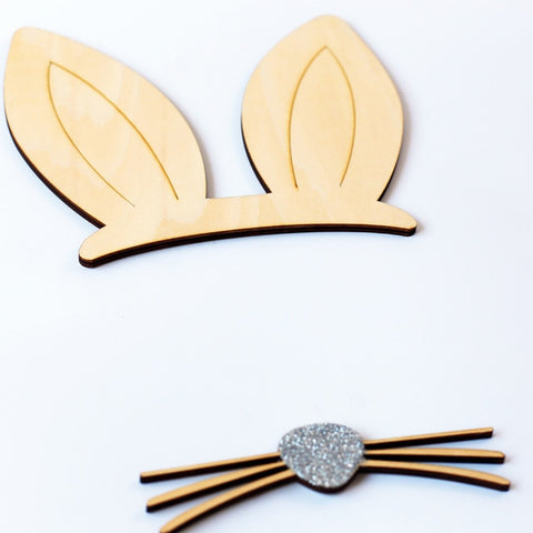 Rabbit Ears Wall Stickers Decoration