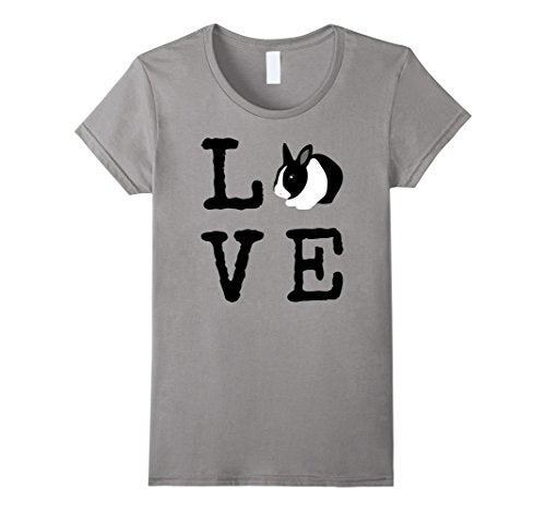 Love Bunny Dutch Rabbit T-Shirt