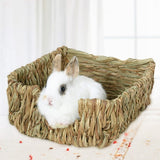Natural Grass Bed Nest for Rabbits