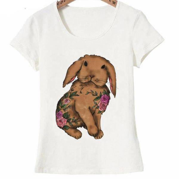 5ffd31e5 Yoga funny rabbit design fashion T-Shirt – ShopBunnies!™