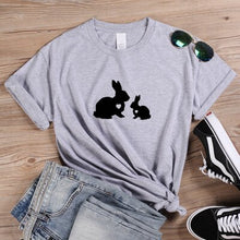 Load image into Gallery viewer, Momma & Baby Rabbit T Shirt