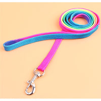 Rainbow Leash & Harness, Adjustable For Rabbits