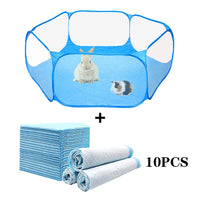 Portable Pop-up Playpen Tent for Rabbits