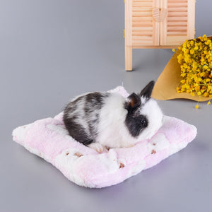 Easy-clean Fleece Bed mat for Rabbits.