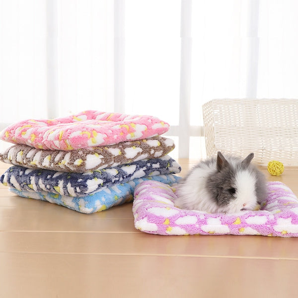 Fleece Bed mat for Rabbits.