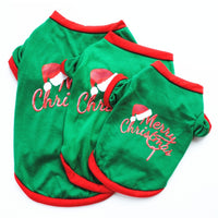 Pet Rabbit Christmas Clothes