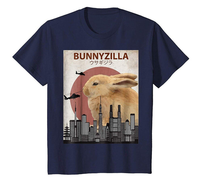 100% Cotton Bunnyzilla Bunny T-Shirt