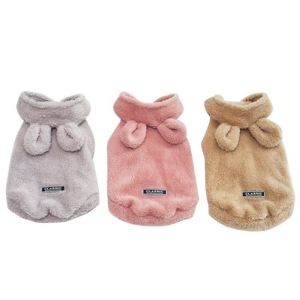 Pet Rabbit Winter Fleece Coats