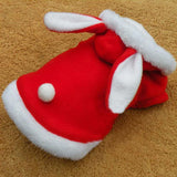 """Santa Bunny"" Christmas Rabbit Coat"