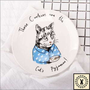 Awesome Animals Bone China Plates