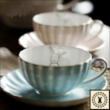 Load image into Gallery viewer, Bone China Cup & Saucer Set.