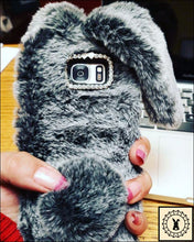 Load image into Gallery viewer, Fluffy Faux-Fur Phone Case For Samsung + Iphone.