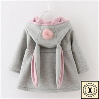 Girls Hooded Coat By Sundae Angel.