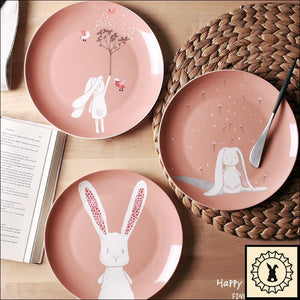 Happy Little Spring - Bone China Plates
