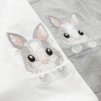 """Rabbit in Pocket""-  T-Shirt."