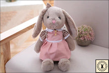 Load image into Gallery viewer, Rabbit Plush Dolls. Light Pink