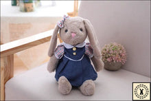 Load image into Gallery viewer, Rabbit Plush Dolls. Navy Blue