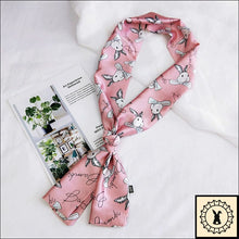 Load image into Gallery viewer, Rabbit Print Scarf By Bambi.