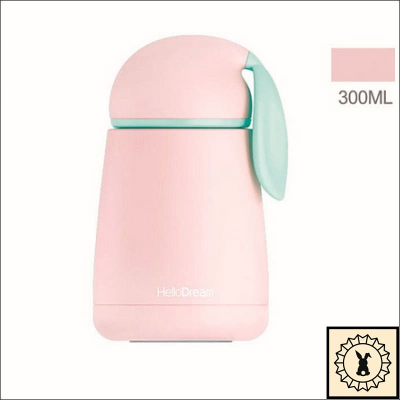 Rabbit Stainless Steel Thermal Flask Pink.