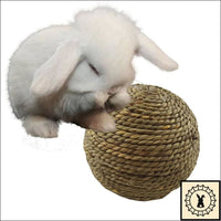 Straw Ball Toy. Large 4 Inch.
