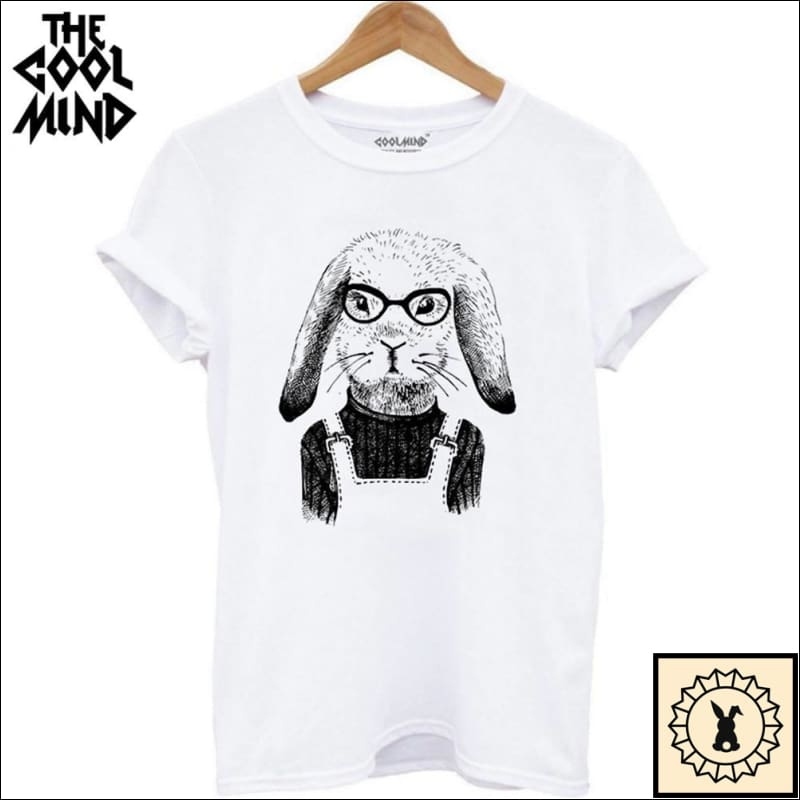The Cool Mind© - Quality T-Shirts. Small. / White.