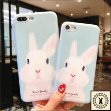 Load image into Gallery viewer, We Are Family Iphone Cases. Blue Bun. / 5 5S Se