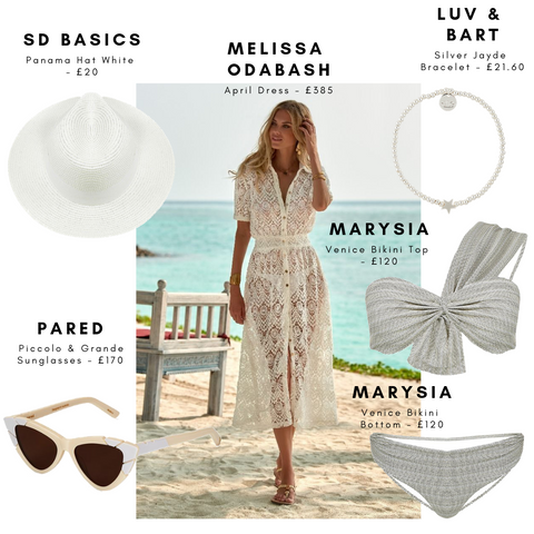 Chic Summer Holiday Must Haves | Luxury Beachwear Outfits