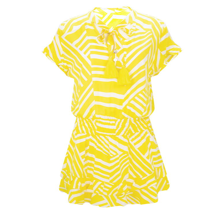 Izzy Dress Yellow