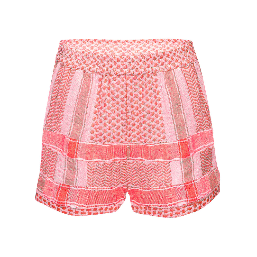 Woven Shorts Neon Pink