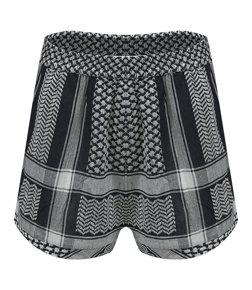 Woven Shorts Black/White