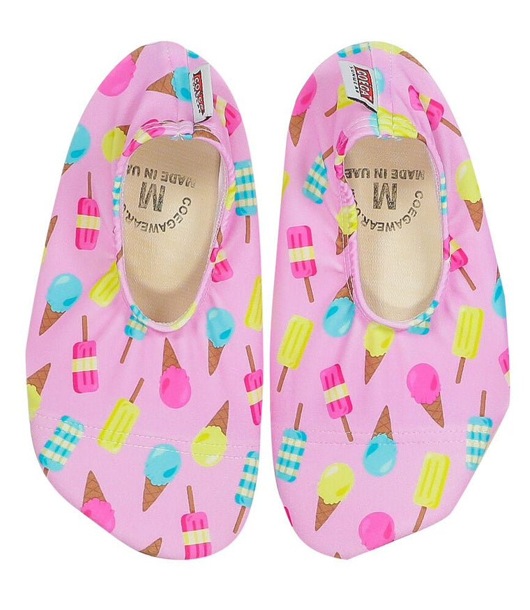 COÉGA Ice Cream Pattern Pool and Beach Shoes