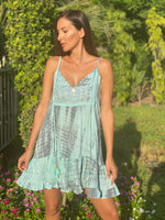 Dress Atalaya Tie Dye Aqua