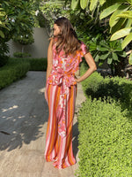 Chiana Jumpsuit Coral Reef Stripes
