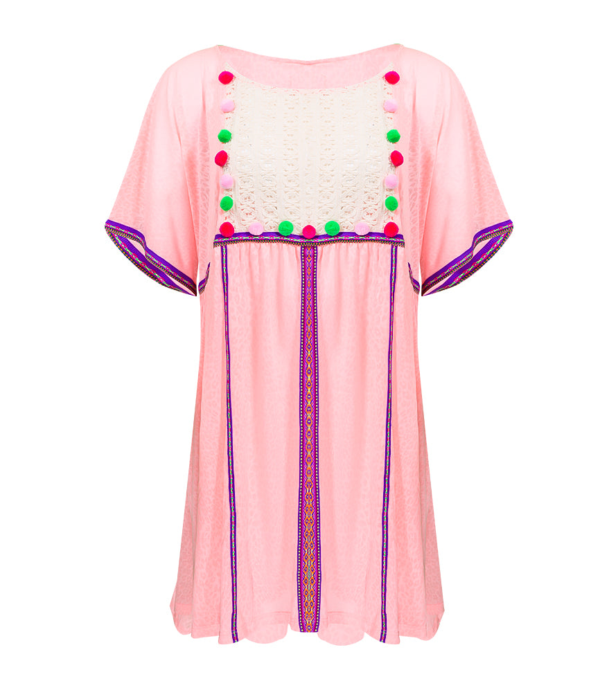 Pom Pom Beach Dress | Sand Dollar UK
