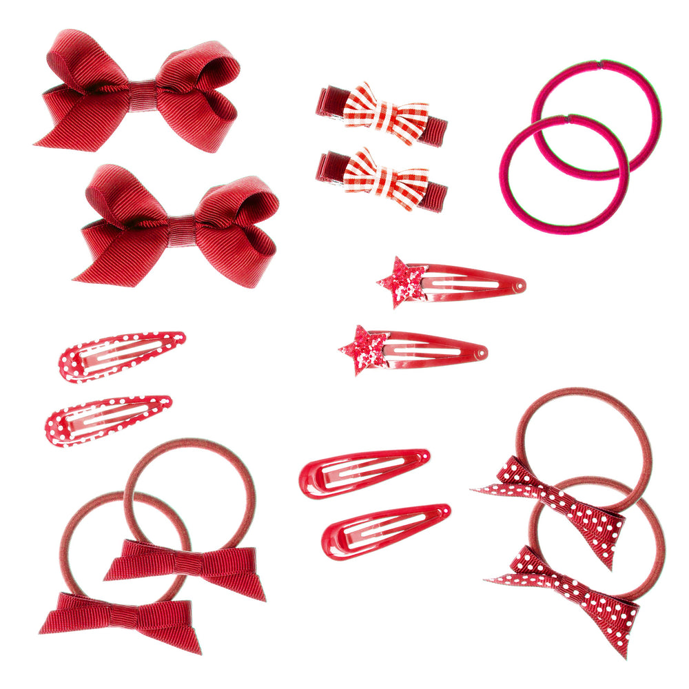 Red Hair Accessories for School