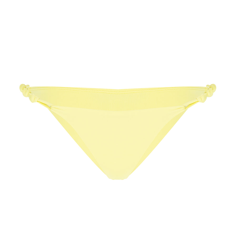 Brazilian Cut Bikini Bottom in Yellow