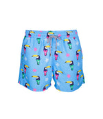 Blue Toucan Swim Trunks for Boys
